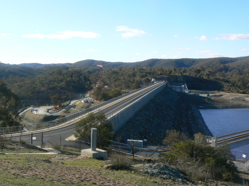 Overview from the Dam Lookout carpark