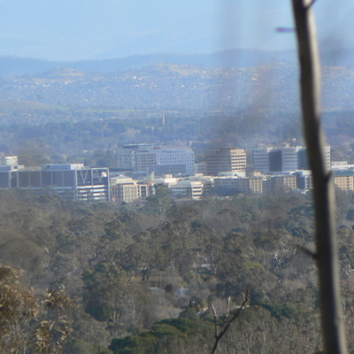 Civic from Mount Majura