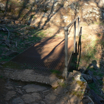 Small bridge on Mount Majura
