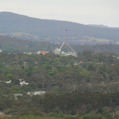 Parliament House, from Oakey Hill