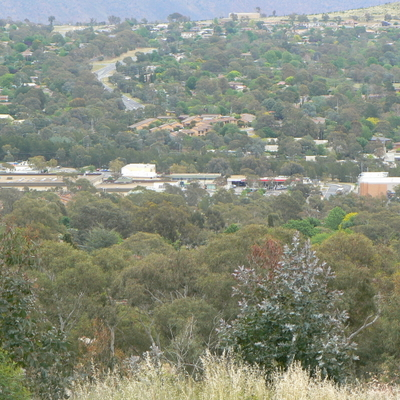 Weston, from Oakey Hill