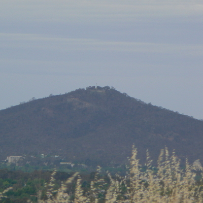 Mount Ainslie from Oakey Hill
